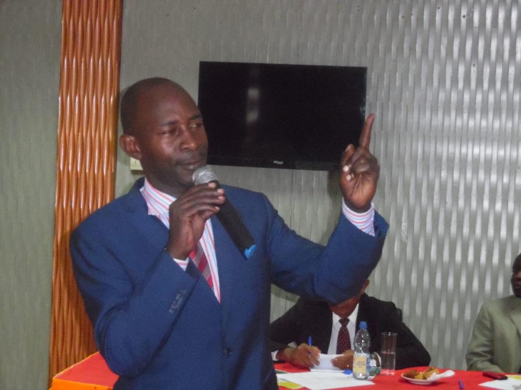 Nakaseke South legislator Hon. Lutamaguzi Paul Ssemakula