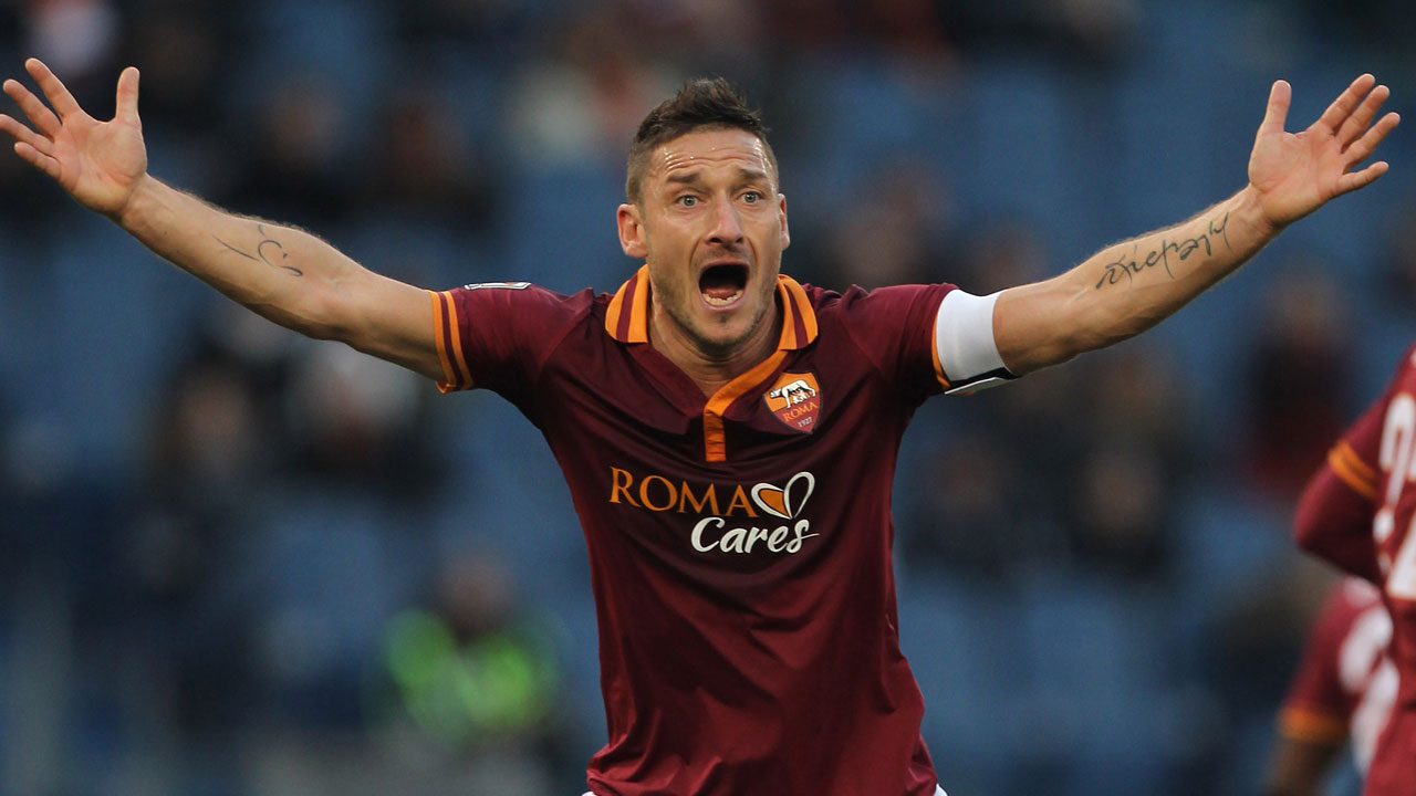 AS ROMA s famous striker Francesco Totti to retire at end of