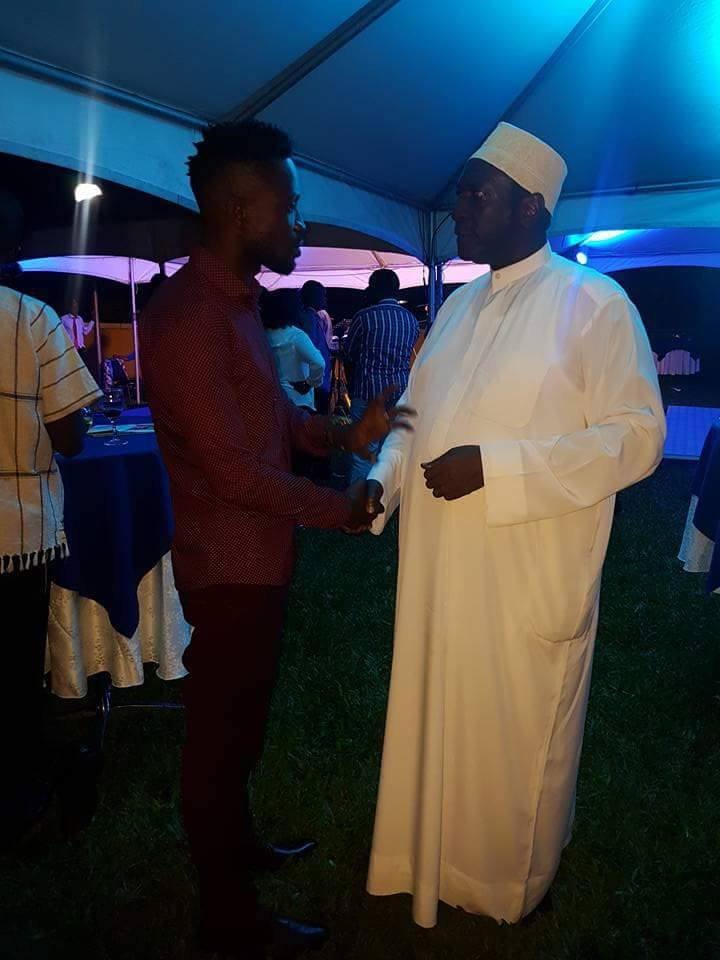 Sheikh Muzaata and Bobi Wine